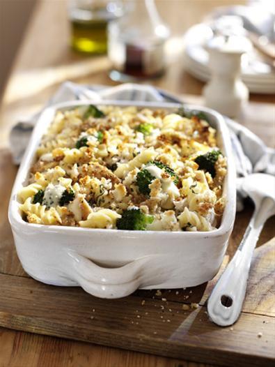 Chicken and broccoli gratin