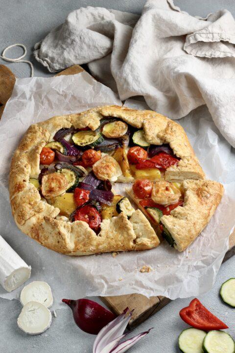 mediterranean vegetable galette