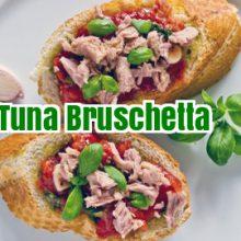 FishIsTheDish [Tuna Bruschetta] SWAGGED