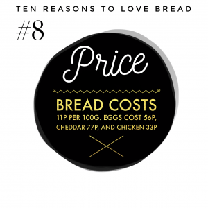 Top ten benefits of bread #8