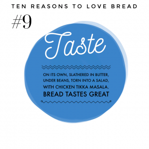Top ten benefits of bread #9