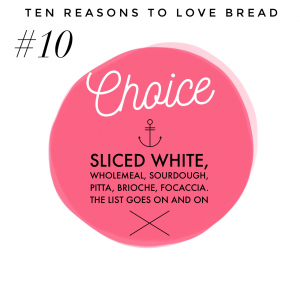 Top ten benefits of bread #10