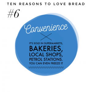 Top ten benefits of bread #6