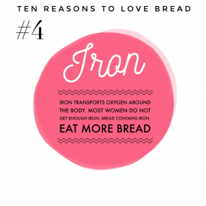 Top ten benefits of bread #4