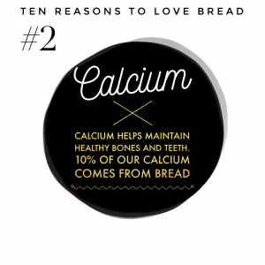 Top ten benefits of bread #2