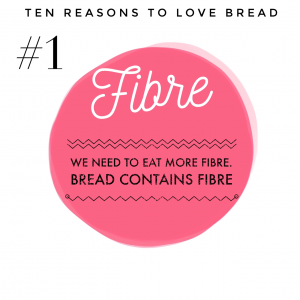 Top ten benefits of bread #1