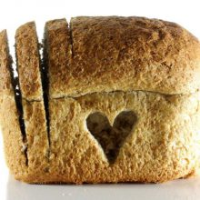 Loaf loveheart