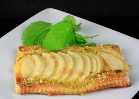Custard Apple Tart with Puff Pastry